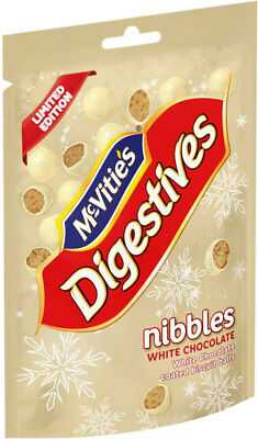 McVities Digestives Nibbles White Chocolate Limited Edition 120g