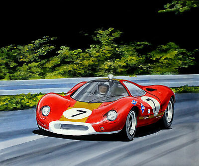 Original   Ford P68   Acrylic Painting