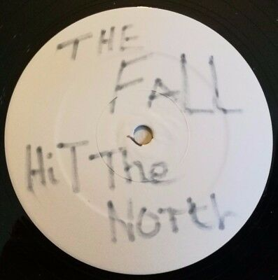 "The Fall Test Pressing 12"" LP Hit the north 1987 Beggars banquet Rush release OO"
