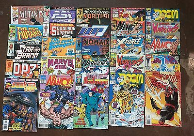 Marvel Comic Lot, of 25  Issues, 80's and Early 90's. Good condition or better.