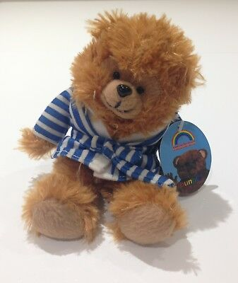 "Bungle Soft Toy 6"" from Rainbow Soft Clip on Keyring New Condition with Tag"