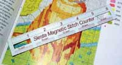 Magnetic Stitch Counter/ Ruler for cross stitch