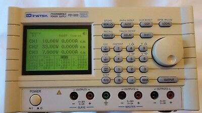 GW INSTEK PST-3202GP Adjustable Bench / Lab Triple Programmable Power Supply