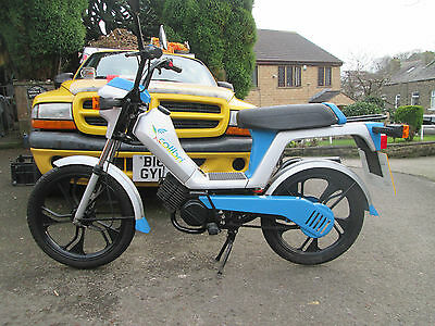 1980'S TOMOS CALIBRA  49cc MOPED ONE OWNER UK REGISTERED ONLY 72 MLS GREAT PRICE