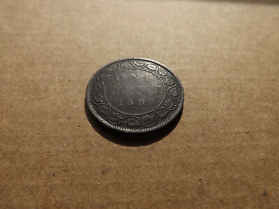 Canada 1899 1 Large cent Canadian one QUEEN VICTORIA Penny coin Lot #3-V
