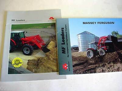 Massey Ferguson Farm Tractor Loaders, 1997+, 24 Pages, Brochure  #