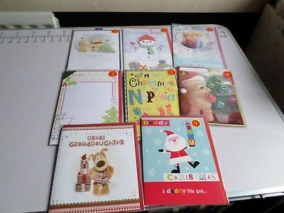 New and sealed joblot of family christmas cards LOT 4