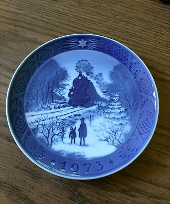 Royal Copenhagen Christmas plate 1973