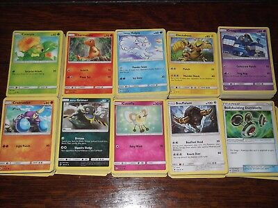 400+ Pokemon TCG bulk card collection (mostly from Burning Shadows) + Holos
