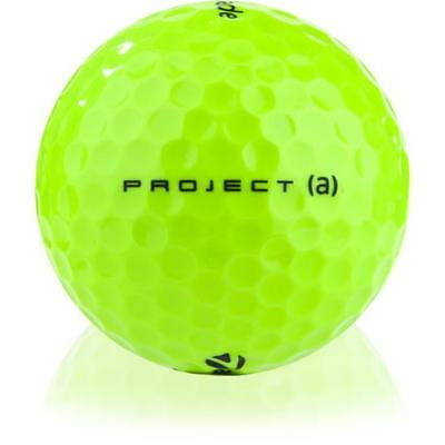 12 Taylor Made Project A Yellow Mint AAAAA Recycled Used Golf Balls + Free Tees