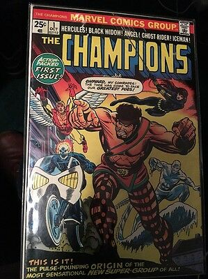 The Champions Issue 1,3,5,6,7,10,11,14,16 and 17 From 1975 Ghost Rider