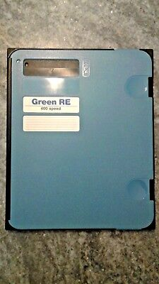 "Rerex 8"" x 10"" Green RE 400 Speed Xray Cassette X-ray Rare Earth w/ Window"