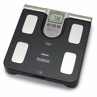 Omron BF508 Body Fat Composition Sensor Monitor BMI Home Bathroom Weighing Scale