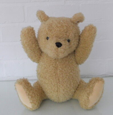 """Gund Disney  Curly Hair Classic Winnie the Pooh - Jointed 14"""" inc  Soft Toy"""