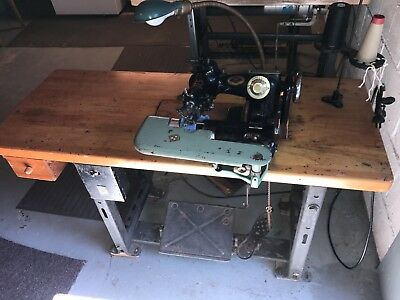US Blind Stitch Industrial Sewing Machine Model 518-9