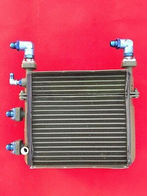 Bell UH1-D turbine-engine/gearbox radiator USED German  P/N:85324-00 and 8531830