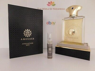Decant 5ml Amouage - Jubilation XXV For Men / The Best Price Guaranteed!