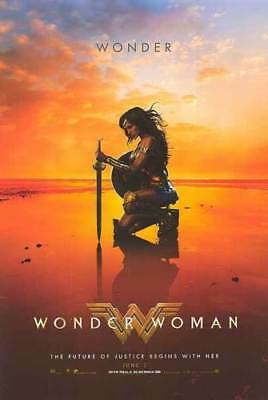 Wonder Woman  Poster  D/s  27 X 40   Brand New Authentic Studio Poster