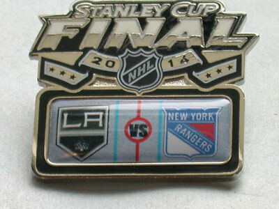 La Kings Vs Ny Rangers Stanley Cup 2014 Head To Head Finals Pin