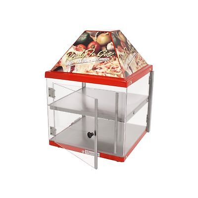 Wisco 680-2 Food Warming and Merchandising Cabinet 2 Shelves/Doors