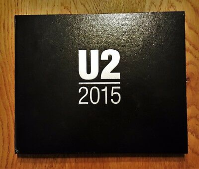 U2 VIP  Gift Book iNNOCENCE aND eXPERIENCE Tour 2015 Limited Edition COA