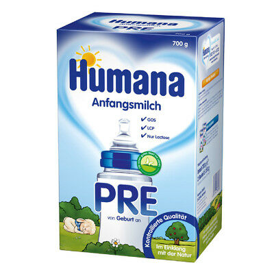 HUMANA Anfangsmilch PRE LCP+GOS Pulver 700g