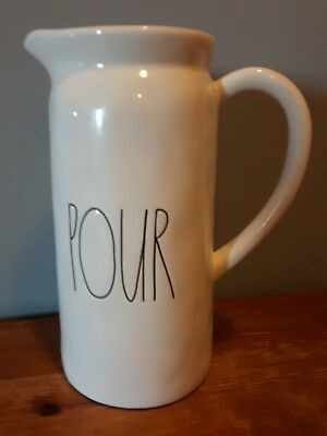 Rae Dunn pour pitcher Artisan collection brand new