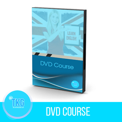 OFFER ! Learn English DVD Course - Learn visually with video Lessons !