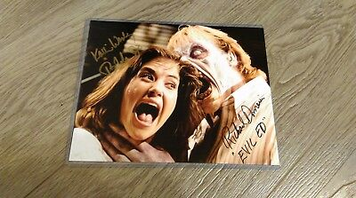 evil dead 2 signed photo