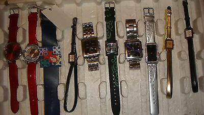 Trade Only Job Lot Of 10 X  Mixed Prototype  Watches 100% Gen, ,,.,;,,,,.,<