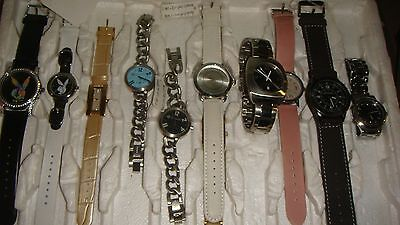 Trade Only Job Lot Of 10 X  Mixed Prototype & Names  Watches ...100% Gen /<