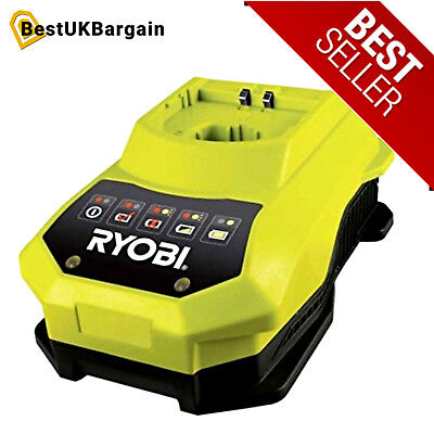 Ryobi BCL14181H ONE+ Fast Charger for All ONE+ Batteries, 18V Voltage:14-18 Volt