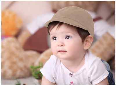 NEW Everyday Baby Boy Suede Hat Cap  Formal Wear Beanie / fits 6 month-4 yrs