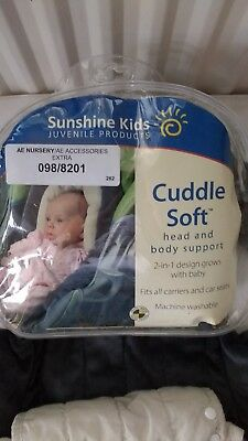 cuddle soft head and body support