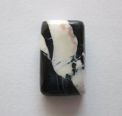 12.80 ct Natural White Buffalo (Howlite) Cabochon Gemstone 1AG 013