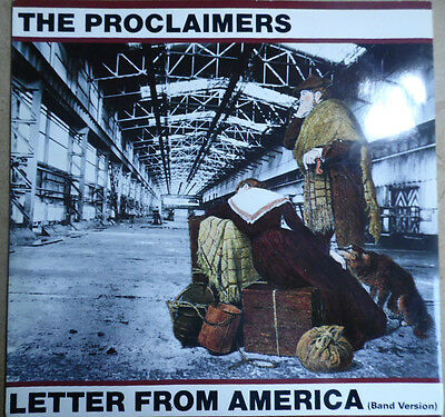 """The Proclaimers Letter From America Orig 1987 12"""" 5 Track Lovely Condition/Audio"""
