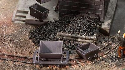 MINING TROLLEYS - HO SCALE KIT-SET by FALLER #180916 suit model train