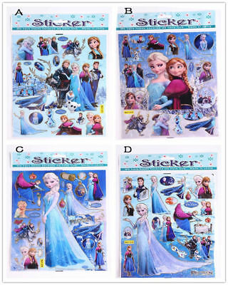 Disney Frozen Elsa Anna Wall Stickers Decal Removable Home Decor Kids Art gift