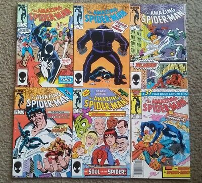 Amazing Spider-Man 270,271,272,273,274,275 VF ~ 6 Book Lot Death of Human Fly!