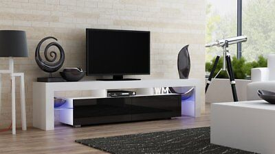 "Modern LED TV Stand/Cabinet ""MILANO 200"" High Gloss"