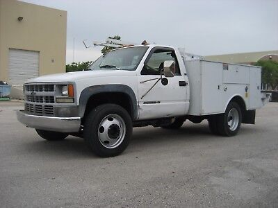 Chevrolet GMC C3500HD Utility Service Mechanics Truck