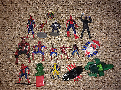 MARVEL COMICS Action Figure/ PVC LOT -  Spider-Man Spiderman Collection - LOOK
