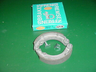 Vespa Scooter 125 VNB 150 VBB FORMA AZ136 Rear Brake Shoes New