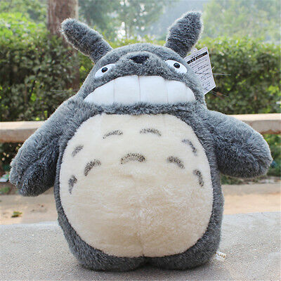 "15"" Anime Movie My Neighbor Totoro Gray Plush Doll Xmas Gift Toy Stuffed"