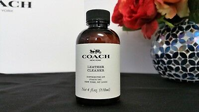 New Coach Leather Cleaner 4 FL.OZ.118 ML