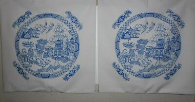 Blue Willow 2. Cushion Covers