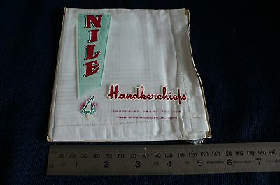 Vintage NILE Handkerchief in original package (unopen)