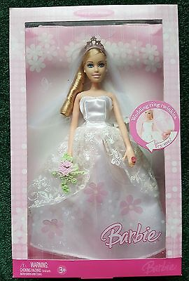 Bride Barbie with Twinkling Wedding Ring