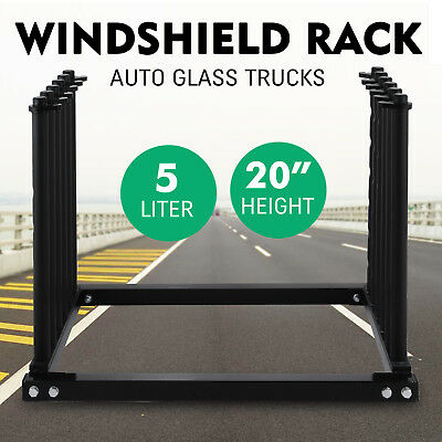 5 Lite New Improvement Windshield Auto Glass Rack Heavy Duty With Pvc Padding