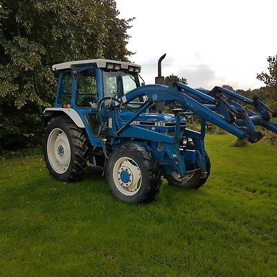 Ford 6810 Loader Tractor